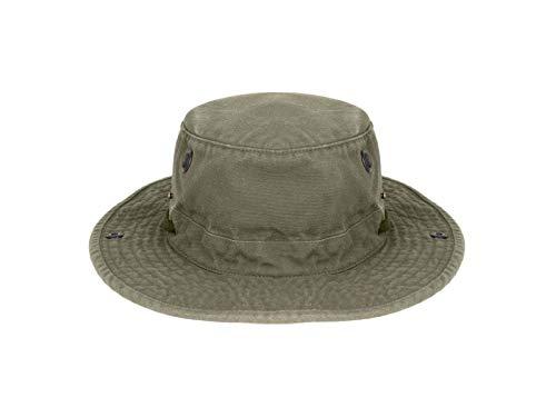 Tilley Tilley Unisex-Erwachsene T3 Hut mit wasserabweisender Beschichtung für Wanderer 1 62 Waldgrün