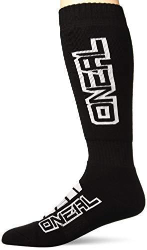O'NEAL | Mountainbike Motocross Socken | MTB Downhill Freeride | Schweißabsorbierend, Verstärkter Fersen & Sohlenbereich | Pro MX Corp | Unisex | Erwachsene | Schwarz Weiß | One Size