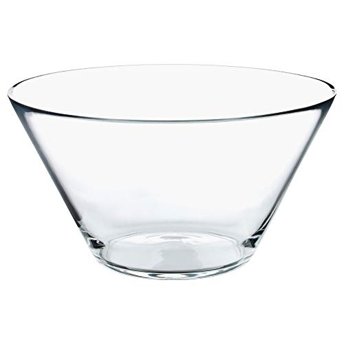 IKEA 201.324.53 Trygg Serving Bowl, Clear Glass