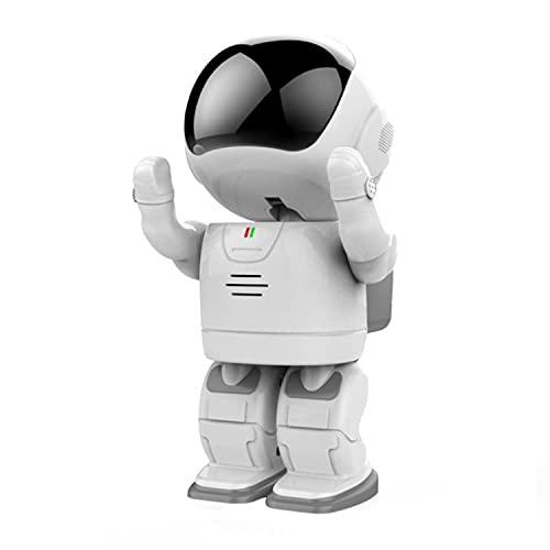 ABCD Cámara de vigilancia, Robot de Espacio Libre de 360 °, conexión inalámbrica WiFi Monitoreo Remoto de Alta definición, Video desconectado, Compartir múltiples Personas