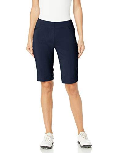 SLIM-SATION Womens Golf Apparel- Womens Golf Shorts (Midnight 14)