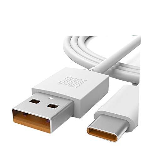 TELEFONMAX Super VOOC - Cable de carga rápida USB tipo C compatible...