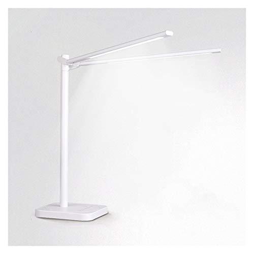 Lámpara de escritorio Lámpara de mesa de lámparas de doble lámpara con 3 modos de iluminación Puntuación de música regulable Puntuación de música PRUEBA PRUEBA LIGHT DE LECTURA DE LUZ CON FUNCIÓN DE M