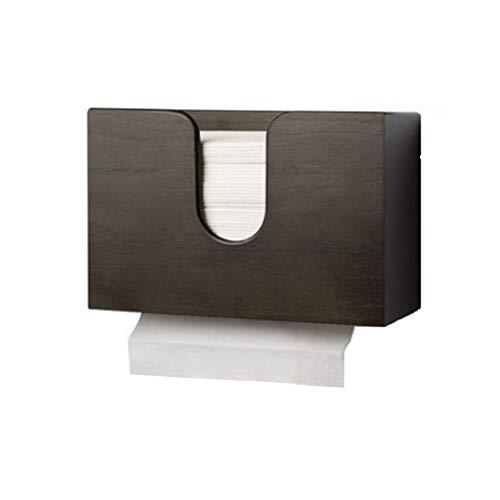 JYDQM Dispensador de Toallas de Papel doméstico Multifuncional, Caja de Tejido de encimera de Pared, para baño, Cocina, Sala de Estar