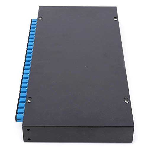 Jeanoko Cold-rolled Steel Plate Patch Panel Box Reliable SC Terminal Box Black for Electronic
