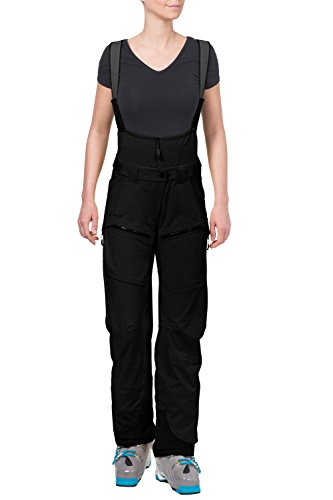 VAUDE Damen Hose Boe Bib Pant, Black, 38, 05184
