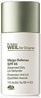 Dr. Andrew Weil For Origins Mega-Defense Advanced Daily Uv Defender Spf 45 30ml