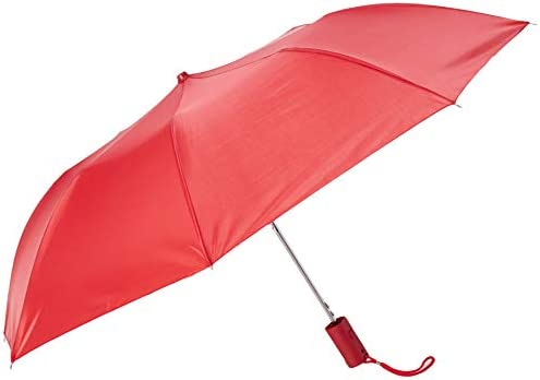 THE WEATHER STATION MANUAL OPEN//CLOSE MICRO MINI LIGHTWEIGHT FLORAL UMBRELLA NWT