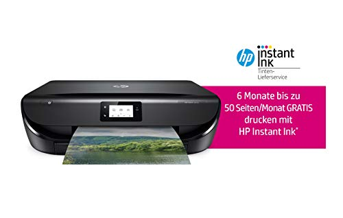 HP ENVY 5010 Multifunktionsdrucker (Instant Ink, Drucken, Scannen, Kopieren, WLAN, Airprint) inklusive 6 Monate Instant Ink
