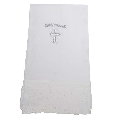 Snuggle Baby - Châle LITTLE MIRACLE CHRISTENING - Bébé (Taille unique) (Blanc)