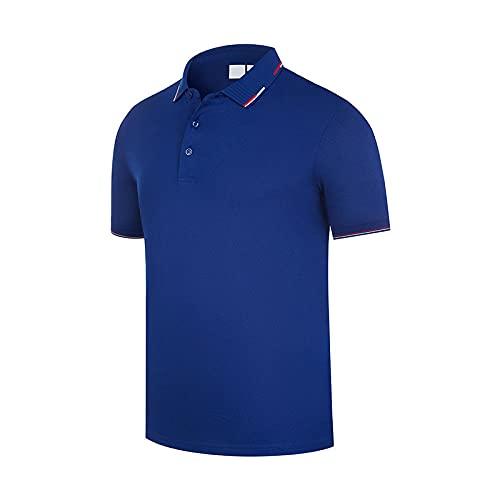 DamaiOpeningcs Camiseta de secado rápido, Lucong Polo de manga corta para verano, Cai Lan_3XL