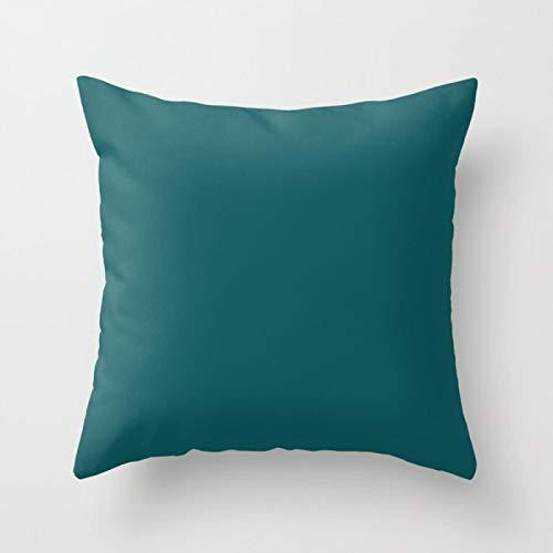Swooggle Blue Green Animal Stars Fodere per Cuscini Quadrati Ins Style Fodera per Cuscino Vita Domestica Divano Cuscino per Auto Decorazione 450 * 450mm Navyblue
