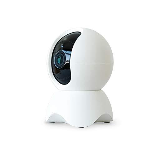 Tuya - Cámara de seguridad WiFi 1080P, cámara IP visión nocturna de 2 vías, audio inteligente para el hogar, cámara de bebé para mascotas (cámara con 64G)