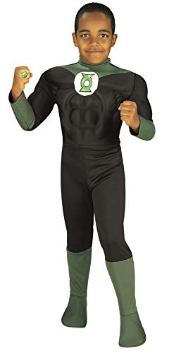 Rubie's Costume Green Lantern Deluxe Muscle Chest Child Costume, Toddler