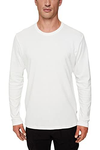 Esprit 091EE2K306 Camiseta, 110/blanco Roto, XL para Hombre
