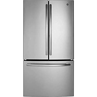 GE Appliances GNE27JSMSS GE 26.7CF French Door Refrigerator SS, Stainless Steel