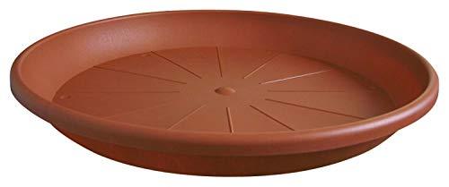 Geli Untersetzer CYLINDRO rund aus Kunststoff, Farbe:Terracotta, Durchmesser:53 cm