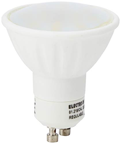 Cablematic LED-lamp, 230 VAC, 4 W, GU10, dichroitisch, 50 mm, 3 niveaus, 120 ° warm licht