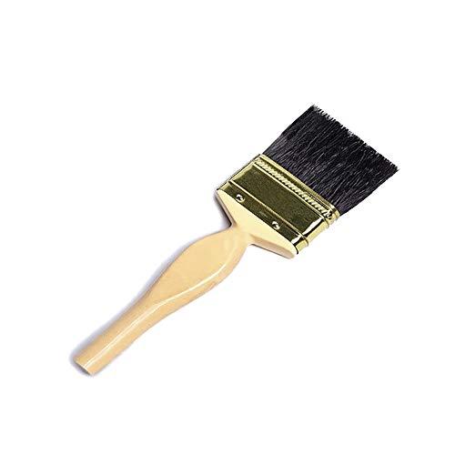 Bizwizz Professioneller Malerpinsel ohne Borstenverlust, 1 Stück, für Atelier, Handwerksbetrieb & Technik für Architekten, (Emulsionspinsel)
