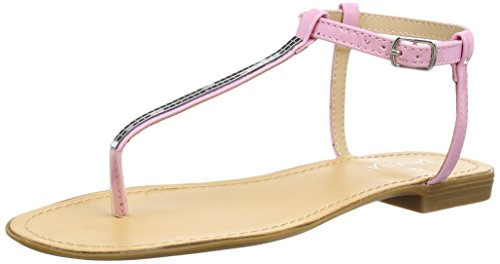 Tantra Sandals with Detail - Sandalias para Mujer, Color Rosa, Talla 36