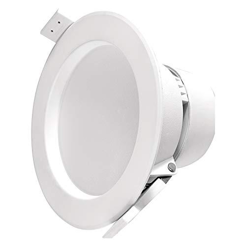 EMOS LED-Einbauleuchte 7,5 W, runder 750 lm Einbaustrahler, ersetzt 60 W, neutralweiß 4000 K, Downlight / Deckenleuchte für Büro, Flur, Wohnzimmer, flimmerfrei, A+