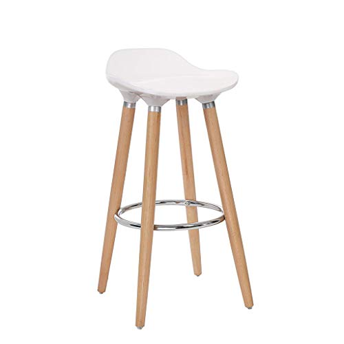 Bar Blanc Tabouret Haut Petit-déjeuner Bar Tabouret Lounge Stool Personality Simple Family Chair