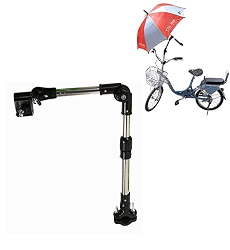 Kyowoll Porta Paraguas Plegable Universal - Soporte para Paraguas para Bicicleta/Silla/Andador/Carrito/Pesca/Carrito de Golf/Pantalla Plana/Umbrella Holder