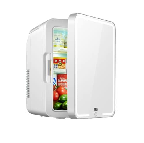 Mini Frigorífico Congelador 12V / 220V, Nevera / Refrigerador De Cosméticos, Refrigerador Portátil Para Coche, Mini Refrigerador Y Calentador Para Frutas, Bebidas, Leche Materna, Cosméticos, 8L