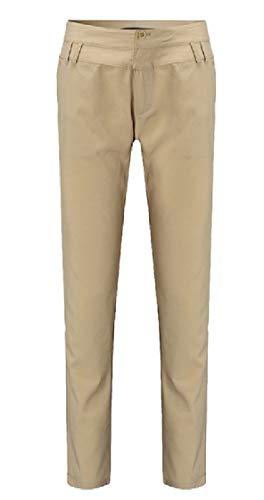 DressUWomen Bolsillos sólidos de talle alto armarios de gran tamaño pantalónes casual...