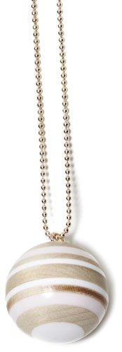 Lacoste Damen-Halskette Creme 700933999L1