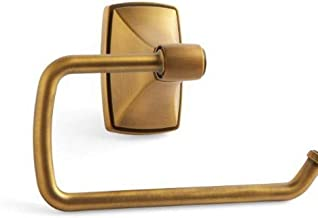 Amerock BH26500GB Clarendon Single Post Tissue Roll Holder in Gilded Bronze
