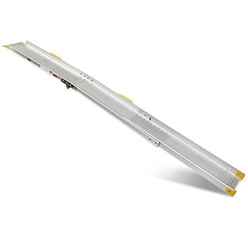 Datona Klappbare Teleskoprampe - 240 cm