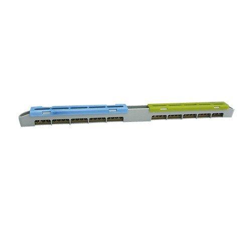 LZ-18 N+PE- Klemme Schutzleiterklemme Sammelklemme 47.118 7294