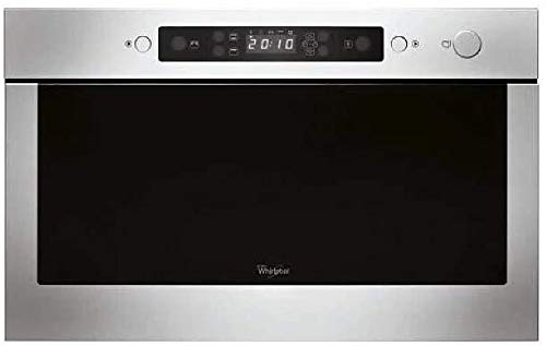 Whirlpool AMW 423 IX Incasso 22L 750W Nero, Acciaio inossidabile forno a microonde