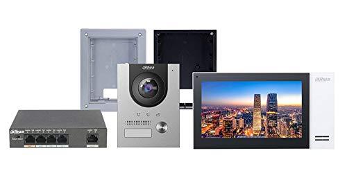 Dahua - Dahua Kit Videocitofono IP Villa da Incasso Completo - KIT-CIT01