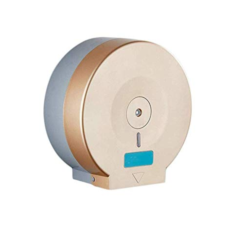 DAGUAI Soporte para papel higiénico, caja de pañuelos de pared, compatible con toallas de cocina de papel enrollable, impermeable para baño, dormitorio, estudio y cocina