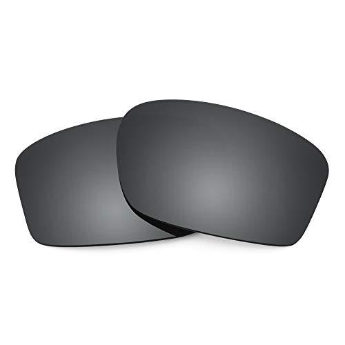 Revant Lenti di Ricambio compatible con Oakley Chainlink, Polarizzate, Nero Cromo MirrorShield