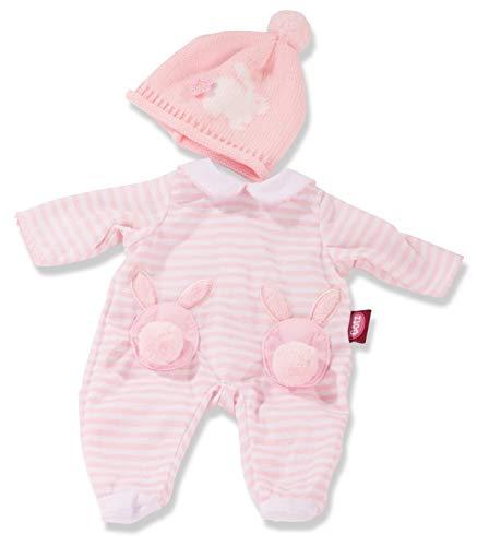 Götz 3403250 - Conjunto de ropa para muñecas (2 piezas, 30 - 33 cm), diseño de conejo