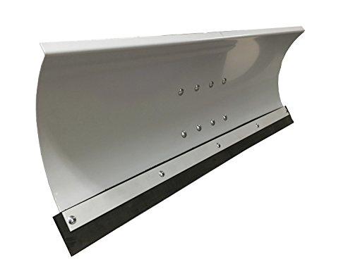 Universal Schneeschild Schneepflug Grau pulverbeschichtet/Abmessungen 100 x 40cm / für Rasentraktor oder Einachsermaschinen / 5-Fach verstellbar