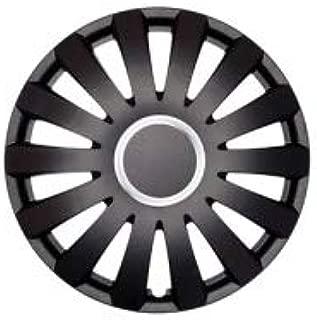 16 Pollici Set di 4 copricerchi alta qualit/à colore nero RST Black