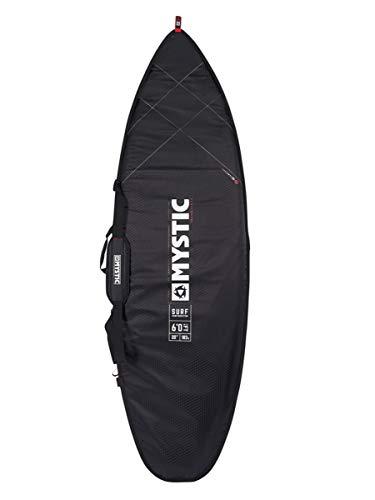 Mystic Watersports - Surf Kitesurfen und Windsurfen Majestic Surf Kite Boardtasche 6';3 Schwarz - PVC-beschichtetes 600D-Polyester