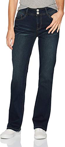 Angels Forever Young Women's Curvy Bootcut Jeans, Adriana, 14 Short