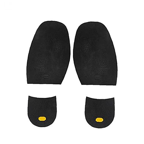 fregthf Zapato Pad apretones Cojín Inserciones de Goma Antideslizante Plantillas de Zapatos y Forros Grips snugs único Protector Pads 1 Par