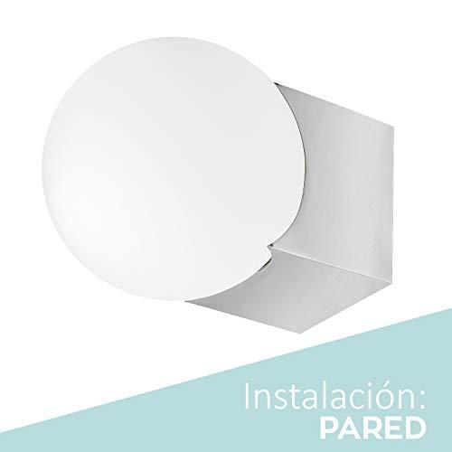 Lámpara de baño, Lámpara de espejo Aplique de Baño DESING 470 Lumenes, 6w 5700kluz brillante, potente y moderna, perfecto para el baño. Impermeable IP44. baño iluminado. Gran calidad.…