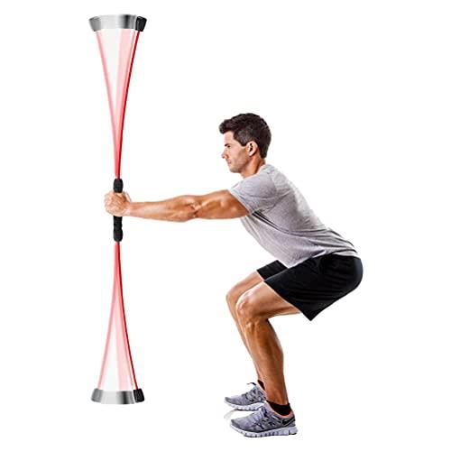 WINBST Sport Schwingstab, 160cm Schwingstab,Multifunktionaler Sport Tremor Fitness Für Hause körperliche Bewegung Yoga Fitness