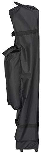 Royal Gardineer Zelttasche: Transport-Tasche für Faltpavillons, mit Zusatzfach und Rollen, schwarz (Zelt-Taschen)
