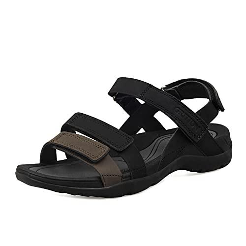 Grition Sandale de randonnée sportive pour femme avec...