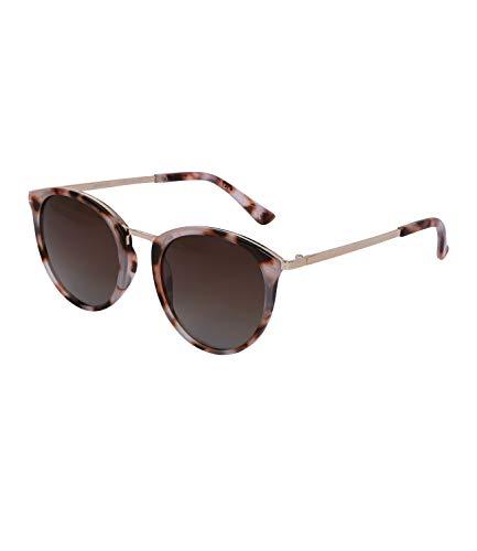 TOSH Sonnenbrille für Damen in Schildpatt-Optik, Linsen-Kategorie 3, UV400 Filter (1002024)