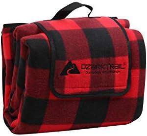 Ozark Trail Oversized Waterproof Fleece Picnic Blanket