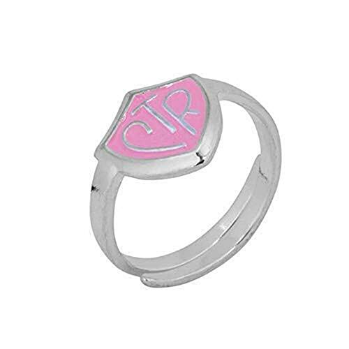 One Moment In Time H14P Adjustable Pink Ring 5 Pack Mormon CTR LDS